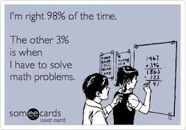 Image result for math percentage problems clean met con