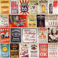 <b>Tin</b>-<b>Sign</b>-<b>Wall</b>-Decor-Metal-Bar-Plaque-Pub-Poster-<b>Retro</b>-Home ...