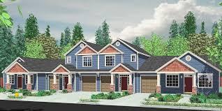 Plex House Plans  Multiplexes  QuadPlex PlansF  Multiplex house plans  Multi level house plans  F