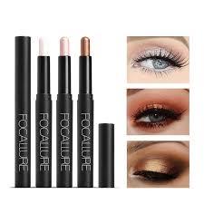 FOCALLURE <b>12 colors glitter</b> single eyeshadow pencil easy to wear ...