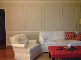 living room paneling