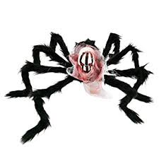 Buy <b>Halloween</b> Spider Decorations, Hamkaw <b>Giant Horror</b> Skull ...