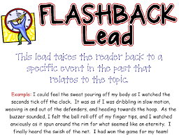 model flashback essay my top ten list writing lessons and resources scholastic scholastic action snapshot sound effect question flashback talking lead