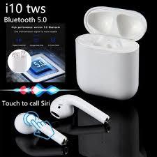 <b>I12 TWS</b> Bluetooth 5.0 Беспроводной наушник Smart Touch ...