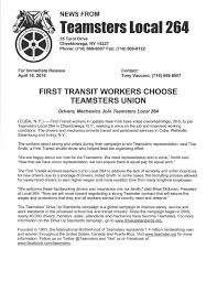 first transit jpg first transit workers choose teamsters union
