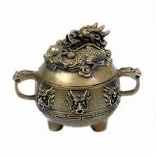 Chinese Brass <b>Incense</b> Burner - Round <b>Dragon</b>, <b>Traditional Chinese</b> ...
