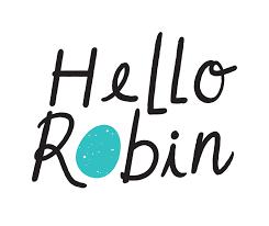 Hello Robin Cookies