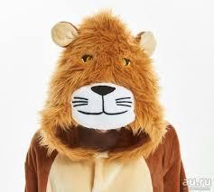 """<b>Кигуруми</b> для детей """"<b>Лев</b>""""- креативный <b>костюм</b> - пижамка ..."""