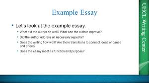 uhcl writing center tep essays presented by the uhcl writing uhcl writing center example essay let s look at the example essay