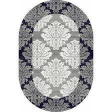 Овальный <b>ковёр Silver d213</b>, 60 х 110 см, цвет <b>gray</b> (1752294 ...