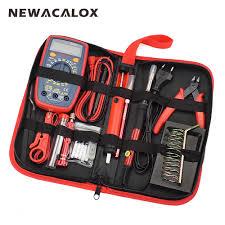 <b>NEWACALOX 60W EU/US Multifunctional</b> Electric Soldering Iron Kit ...