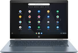 "HP <b>2-in-1</b> 14"" Touch-Screen Chromebook Intel Core i3 8GB Memory ..."