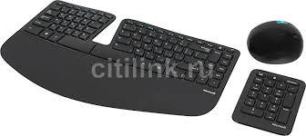 Купить Комплект (клавиатура+<b>мышь</b>) <b>MICROSOFT Sculpt</b> ...