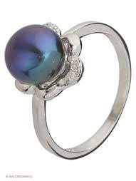Купить женские <b>кольца</b> с жемчугом в интернет-магазине ...
