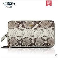 Online Shop yuanyu Boa skin genuine leather handbag for women ...