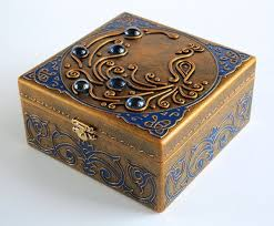 art inside — Wooden jewelry box — Blue <b>Bird</b> (с изображениями ...