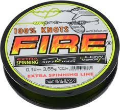 <b>Леска</b> монофильная <b>BALSAX Fire</b> BOX <b>100м</b> 0,20 (5,45кг ...
