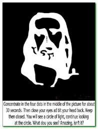 Optical illusion.....Oh Jesus Christ!