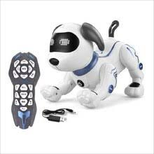 Электронный Робот-<b>собака</b>, милый мультяшный животное ...