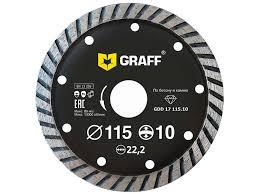 <b>Диск GDD 17</b> 115 10 алмазный <b>диск</b> по бетону и камню 115x10x2 ...