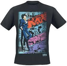 <b>Cowboy Bebop</b> Spike <b>T</b>-<b>Shirt</b> Black: Amazon.co.uk: <b>Clothing</b>