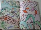 Мини раскраска антистресс удивительные животные