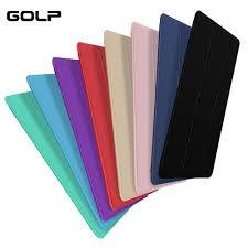 Flip <b>cover For</b> iPad Pro 10.5 <b>Case</b>, GOLP <b>3 Fold Stand</b> Sleep Wake ...