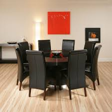 Round Dining Room Tables For 8 Large Round Dining Table Seats 8 Is Also A Kind Of Big Round Black