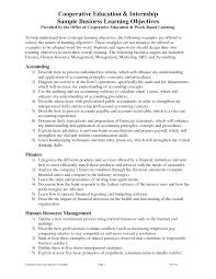 resume examples resume objectives for internships finance and good resume examples resume objectives for internships finance and good objective for resume for accounting internship career objective for internship resume