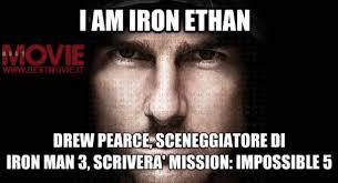 Picture drew-pearce-sceneggiatore-di-iron-man-3-scrivera-mission ... via Relatably.com