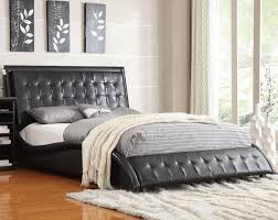 tully queen bed black black or white furniture
