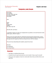 sample resignation letter example 10 documents in resignation letter 2 week notice