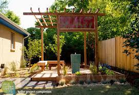 interesting backyard landscaping ideas for backyard landscape lighting
