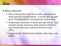 how to choose the right colors for your office or business calming office colors