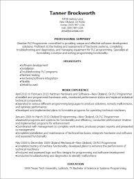 programmer resume programmer resume template dawtek resume and esay resume templates plc programmer resume game programmer resume