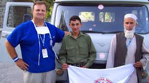 PHOTO: Gerald Flint of Volunteers Medics Worldwide in Afghanistan. Gerald Flint of Volunteers Medics Worldwide in Afghanistan. - abc_joe_flint_thg_120406_wg