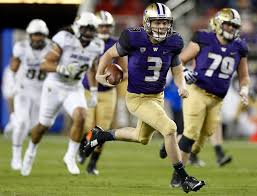 what national media are saying about uw huskies in college washington quarterback jake browning runs the ball for 19 yards in the first quarter but