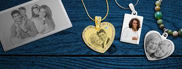 Gift <b>Personalized Photo Necklace &</b> Photo Engraved Jewelry