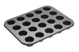 MasterClass 20-Hole Non-Stick <b>Mini</b> Bites Tin With Loose Bases ...
