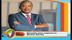 TVJ Smile Jamaica: <b>Hot</b> Topics Kenyatte Pays Respects to <b>Marcus</b> ...