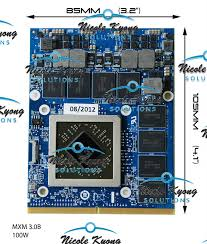 GTX880M GTX 880M 8GB GDDR5 Video VGA CARD <b>For MSI 16F3</b> ...