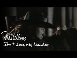 <b>Phil Collins</b> - Don't Lose My Number (Official Music Video) - YouTube