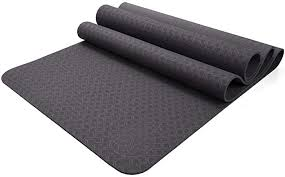 Yamkas <b>Yoga</b> Mat <b>TPE</b> - <b>183 x 61 x 0.6 cm</b> - <b>Non Slip</b> - Eco Friendly ...