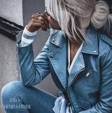 Купите blue biker <b>jacket</b> онлайн в приложении AliExpress ...