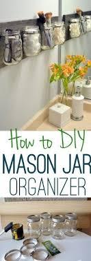 jar crafts home easy diy: how to clean the mason jar organizer diy playbook