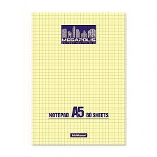 <b>Блокнот на клею ErichKrause</b>® MEGAPOLIS® Yellow Concept, А5 ...
