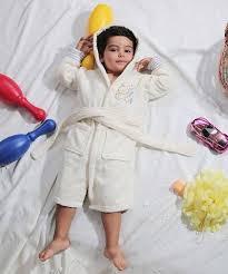 <b>Халат детский</b> с капюшоном <b>KARNA TEENY</b> екрю 2-3 года от ...