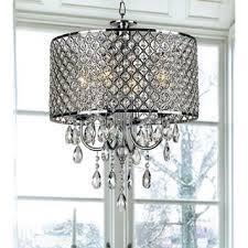 chrome finish 4 light round chandelier bedroom chandelier lighting