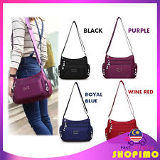 <b>Women</b> Style <b>Classic Nylon Waterproof</b> Shoulder Bag Cross-body ...