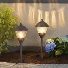 Aged Iron Pagoda LV LED <b>4 Piece Garden</b> Lighting Starter Kit